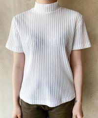 白リブTシャツ