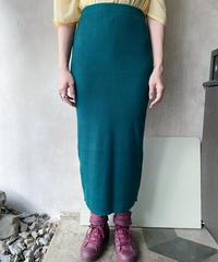 グリーンニットタイトスカート