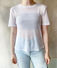 シースルーホワイトTシャツ