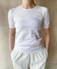 白ストレッチTシャツ