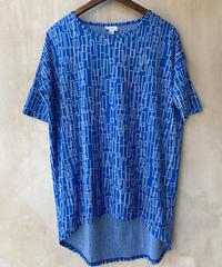 青幾何学Tシャツ