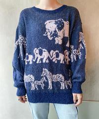 ゾウシマウマセーター