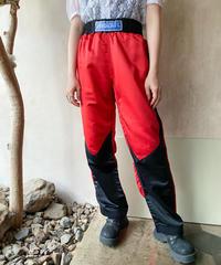 赤黒キックボクシングパンツ