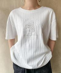 白船刺繍Tシャツ