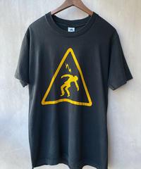 注意プリントTシャツ