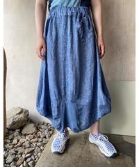 染めデザインスカート