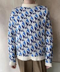 AILジャガードセーター