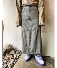 シャリ感ロングタイトスカート