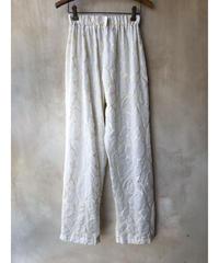 白花パジャマパンツ