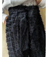 黒フサフサパンツ