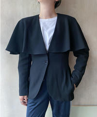 黒ケープジャケット