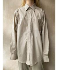 ビッグベージュシャツ