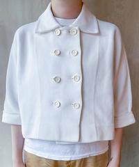 白ダブルジャケット