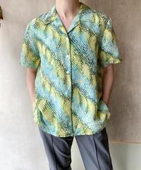 シルクパイソングラデーションシャツ