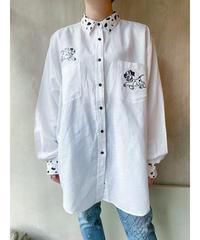 101匹ワンちゃん刺繍シャツ