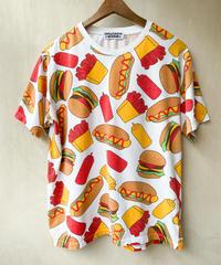 フードケチャTシャツ