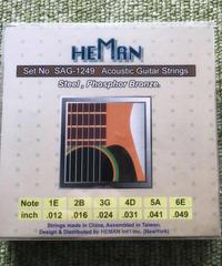 詩門 ギターの弦「型番:SAG-1249」