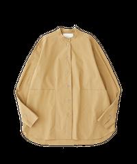【STUDIO NICHOLSON】Beek shirts/Almond