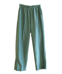 【08sircus】Silky lawn slit easy pants