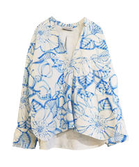 【Christian Wijnants】Flower printed shirt