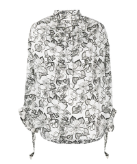 【Christian Wijnants】Froral blouse