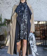 【NEHERA】 Layered light coat