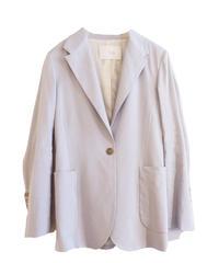 【TELA】Single jacket/Ice gray