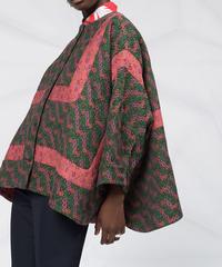 【HENRIK VIBSKOV】Floral knit shirts