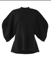 【AKIRA NAKA】Out seam knit/Black