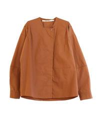 【TELA】Volume sleeve shirts/CAMEL