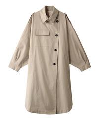 【TELA】Dolman sleeve coat/Beige