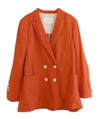 【TELA】Double jacket/Orange