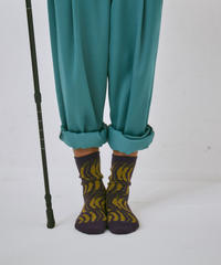 【22cm~25cm】ネパールの川ソックス