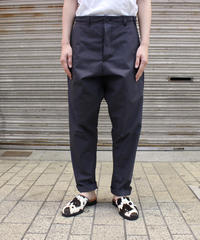 O project / CLASSIC TROUSERS / BLACK