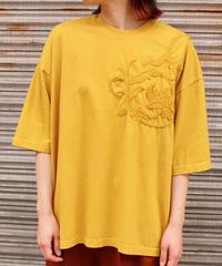 Edwina Hoerl / 刺繍入りカットソー / yellow