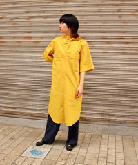 TOGA PULLA / Broad dress / yellow