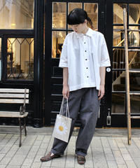 Oproject / SHORT SLEEVE SHIRTS / OFF WHITE, BROWN, BLACK