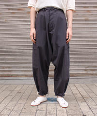 O project / WIDE FIT PATCH POCKET TROUSERS / BLACK