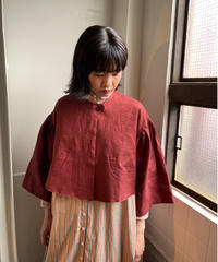YAB-YUM / CAPE JACKET / Bordeaux