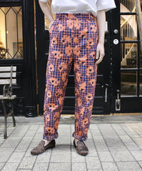 HENRIK VIBSKOV / PIANO PANTS /Orange blue