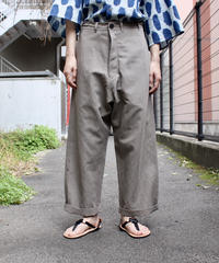 O project / REGULAR FIT TROUSERS / TAUPE, KINARI, SUMI