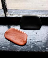Hender Scheme / snap purse small / black, choco
