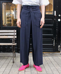 TOGA PULLA / Suiting pants / navy, khaki