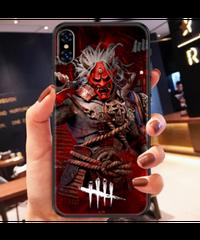 大迫力 キラーデザイン Dead by Daylight ソフトタイプ iPhoneケース iPhone12 12mini 12Pro 12ProMAX対応 背面 バックカバー