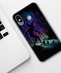 Dead by Daylight デモゴルゴン フルプリント ソフトシリコン iPhone バックカバー X XSMAX XR XS対応 ハイクオリティ 夜景 シルエット