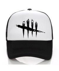 Dead by Daylight ロゴ フロントプリント バックメッシュ ベースボールキャップ シンプルデザイン 大人用 野球帽