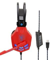 オーバーイヤー ノイズキャンセリング ゲーミングヘッドフォン サイバーデザイン 有線 ヘッドセット マイク付 3カラー USB接続タイプ