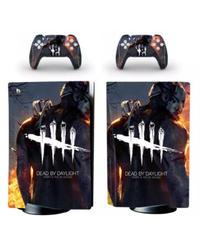 Dead by Daylight PS5 ディスク版 通常モデル専用 スキンシール カスタム用 本体用1枚&コントローラー用2枚 DbD プレイステーション5 スキンステッカー