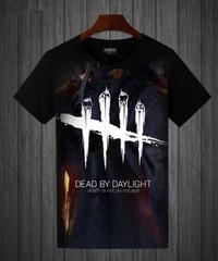 Dead by Daylight トラッパー バックスタイル BIG フルプリント 半袖 メンズ Tシャツ S~5XL