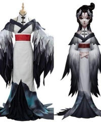 IdentityV 第五人格 芸者 美智子 衣装 仙鶴 コスプレ コスチューム オフ会 イベント  S~XXL